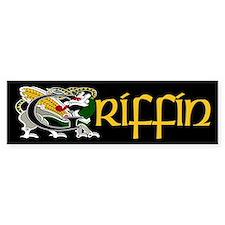 Griffin Celtic Dragon Bumper Bumper Stickers