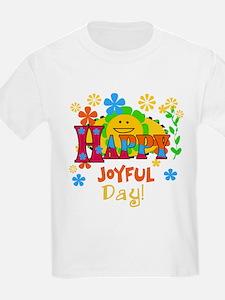 Happy Joyful Day Kids T-Shirt