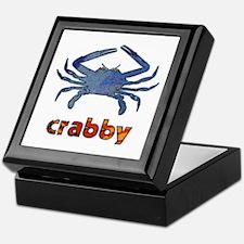 Crabby Keepsake Box