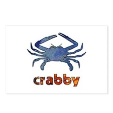 Crabby Postcards (Package of 8)