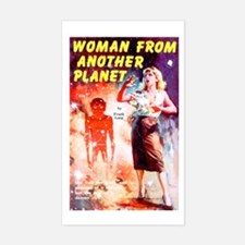 Woman From Another Planet Decal