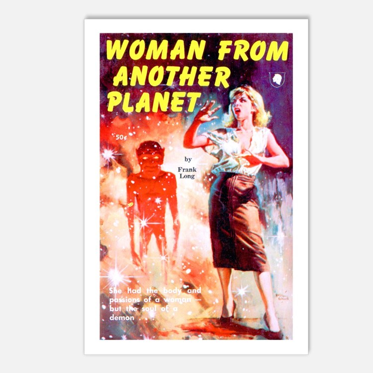 Woman From Another Planet Postcards (Package of 8)