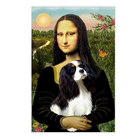 Mona & her Tri Color CKC Postcards (Package of 8)