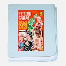 Fetish Farm baby blanket