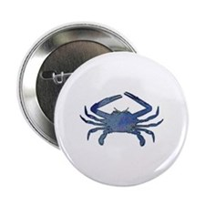 "Blue Crab 2.25"" Button"