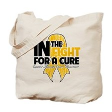 In The Fight Appendix Cancer Tote Bag