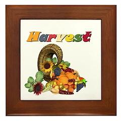 Harvest Framed Tile