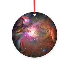 Orion Nebula Hubble Image Ornament (Round)