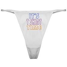 T Shirt Time Classic Thong