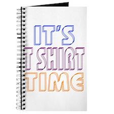 T Shirt Time Journal