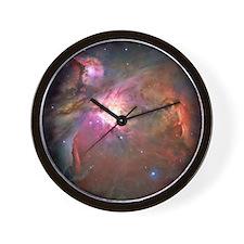 Orion Nebula Hubble Image Wall Clock