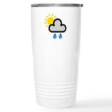 Rain Showers Symbol Travel Mug