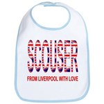 Scouser from Liverpool with Love Bib