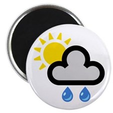 Rain Showers Symbol Magnet