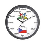 OES Czech Republic Wall Clock