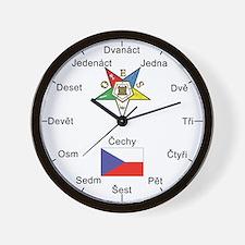 OES Czech Republic Wall Clock