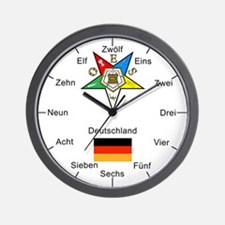 OES Germany Wall Clock