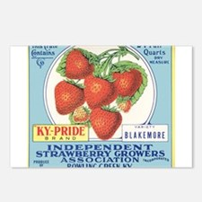 Cool Strawberry Postcards (Package of 8)