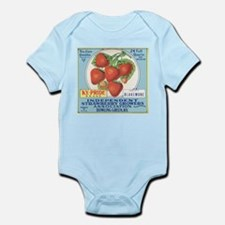 Cute Strawberries Infant Bodysuit