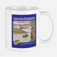 Funny Fruit crate label Mug