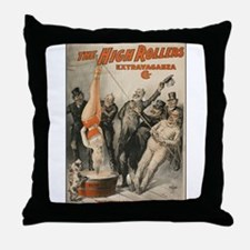 Unique Extravaganza Throw Pillow