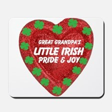 Irish Pride & Joy/Great Grandpa Mousepad
