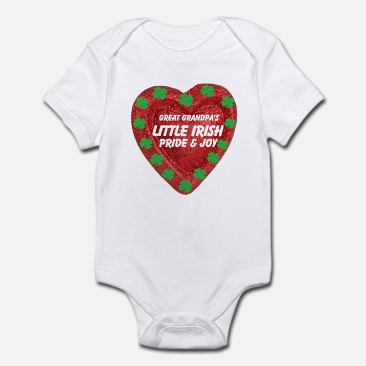 Irish Pride & Joy/Great Grandpa Infant Bodysuit