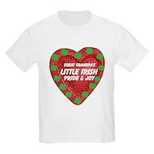 Irish Pride & Joy/Great Grandpa T-Shirt