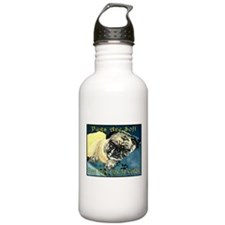 Pugaboo Pugs Are Soft Water Bottle