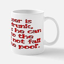 Red Scouser Never Drunk Mug