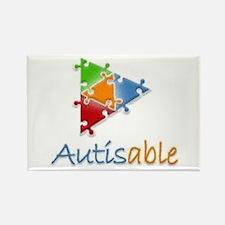 Autisable - Rectangle Magnet