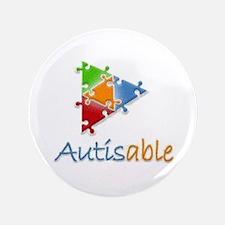 """Autisable - 3.5"""" Button"""