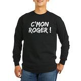 Roger federer Long Sleeve T-shirts (Dark)