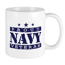 Proud Navy Veteran Mug