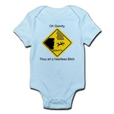 Sheldon's Gravity Joke Infant Bodysuit
