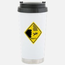 Sheldon's Gravity Joke Stainless Steel Travel Mug