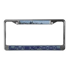 Scenic Liverpool (Blue) License Plate Frame