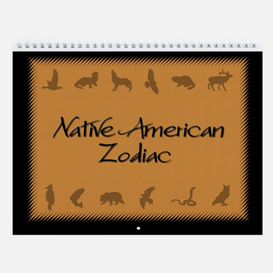 Native American Zodiac Wall Calendar