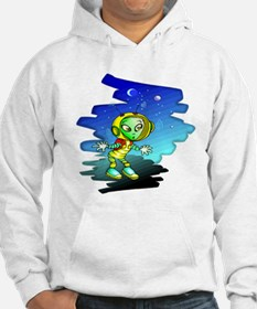 Little Space Alien Hoodie