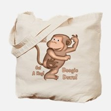 Dancing Monkey Tote Bag