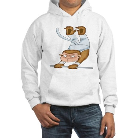 Monkey Gymnist Hooded Sweatshirt
