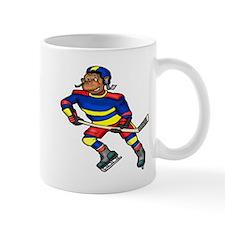 Monkey Hockey Player Mug