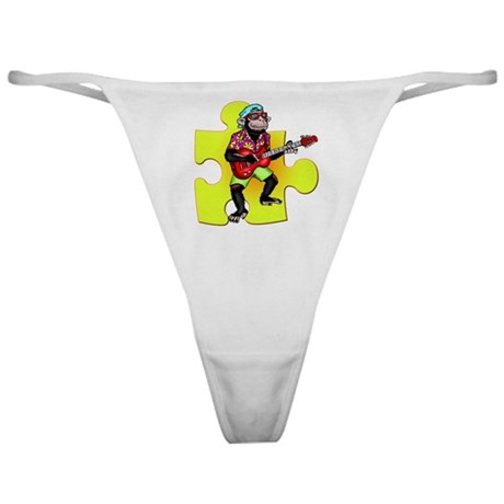 Rock and Roll Monkey Classic Thong