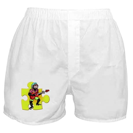 Rock and Roll Monkey Boxer Shorts