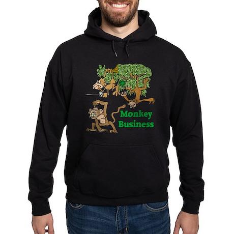 Monkey Business Hoodie (dark)