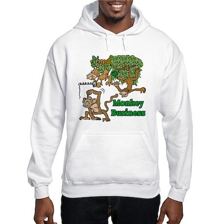 Monkey Business Hooded Sweatshirt