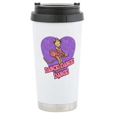 Monkey Ballerina Travel Mug