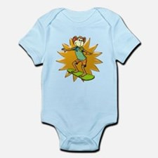 Skateboard Monkey Infant Bodysuit