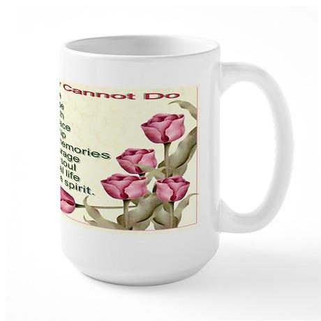 Limits of Cancer Large Mug