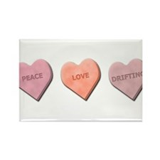 Sweetheart Cars and Drifting Rectangle Magnet